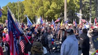StopTheSteal _ California State Capitol Protest Sacramento, CA Week 4 November 28, 2020 IMG 2804