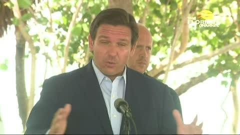 Governor DeSantis Press Conference Regarding Biscayne Bay Resiliency 6/3/21