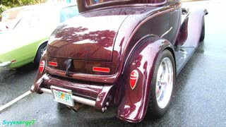 1932 Ford Coupe with 'suicide' doors, Florida Car Show