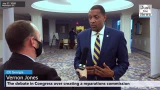 Vernon Jones discusses reparations (6 min)