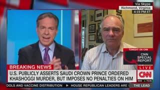 Jake Tapper And Sen. Tim Kaine Discuss The Khashoggi Murder