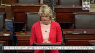 Murkowski reverses course, says she'll vote to confirm Barrett to the Supreme Court