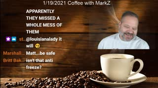 Coffee with MarkZ and Dr Palmer