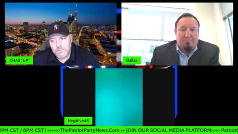 The Patriot Party News - Chas & Dallas Breakdown Intel With Negative 48