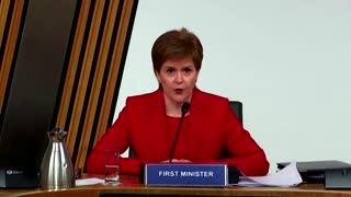 Scotland leader defends predecessor case handling