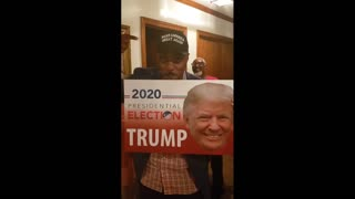 """Black Family Shows Their Support For Trump - """"Trump Is In The House!"""""""