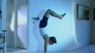 Scorpion Handstand Asana