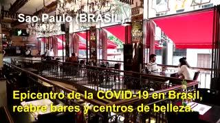 Covid-19 Imágenes de una crisis en el mundo. 07 de julio
