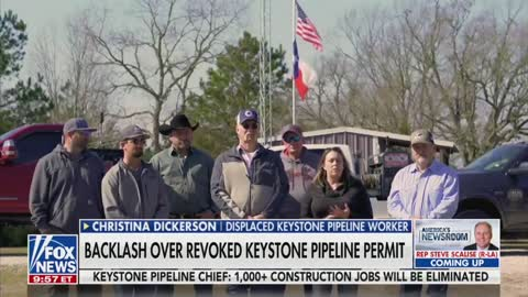 Laid-Off Pipeline Workers Send BRUTAL Message to Joe Biden