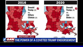 The power of a coveted Trump endorsement