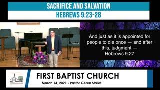 Sunday Morning Worship - March 14, 2021