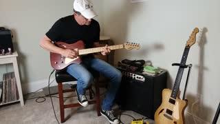 KazTone Handcrafted Guitars Rosie demo.
