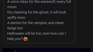 Google Assistant Singing Halloween Song