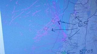 AWAC Early Warning Aircraft Over America and Israel
