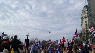 Trump Flyover 12/12
