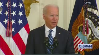 Biden Tries to Swear in New Immigrants But Can't Speak a Coherent Sentence