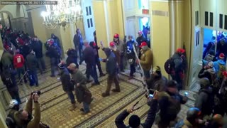 New Video of Jan 6 Shows Protestors Entering Unimpeded