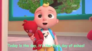 first day in school nursery rhyme
