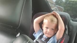 Little Boy Loves Going Fast