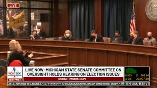 2020 USA Election fraud - Michigan hearing Melissa Corone, Dominion Employee testimony
