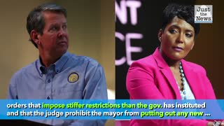 Georgia governor sues Atlanta mayor, city council over mask mandate