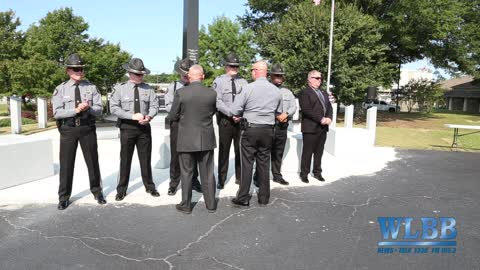 Carroll County Public Safety Recognition and Memorial Service at the PublicSafety Memorial Park.