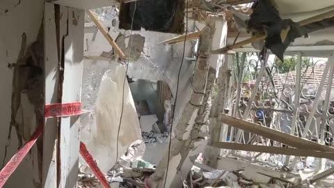 Ted Cruz Surveys the Destruction of Hamas' Bombs in Israel