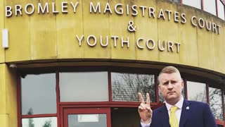 Paul Golding attends Bromley Magistrate's Court