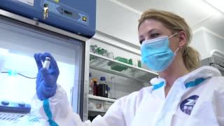 Imágenes del desarrollo de la vacuna rusa contra el coronavirus