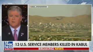Trump Reacts To Deadly Kabul Terror Attacks