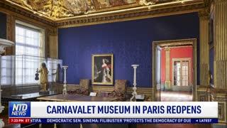 Carnavalet Museum in Paris Reopens