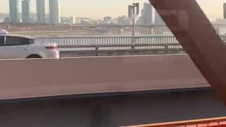 Crossing Han River (Seoul)