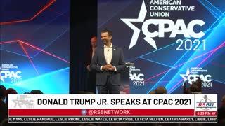 CPAC 2021 Donald Trump Jr Full Speech in Dallas 7/9/21