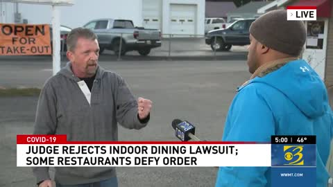 small business owner live news report