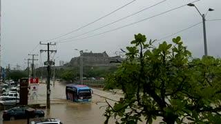 Inundaciones, calle 30