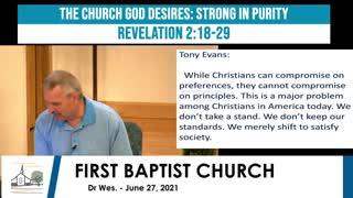 Adult Sunday School - June 27, 2021