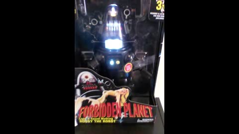 WALMART EXCLUSIVE Forbidden Planet Walking Talking ROBBY THE ROBOT