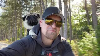 Taking your human for a bikeride!