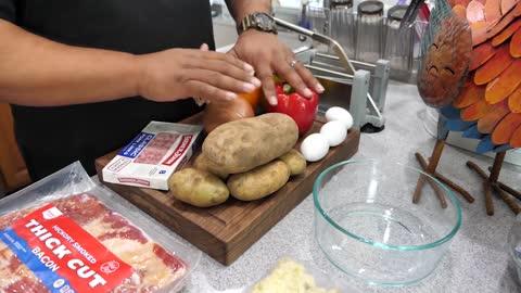 Breakfast Skillet Recipe | Brunch Ideas | #BreakfastwithAB