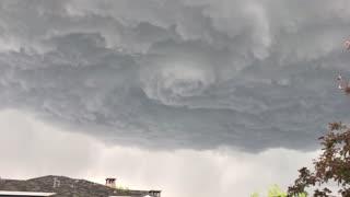 Mesmerizing Funnel Storm Cloud