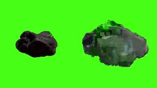 Asteroid Green Screen Effect Video