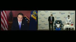 Video: Una enfermera de Queens, la primera neoyorquina en recibir la vacuna