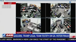 Georgia Election Fraud Security Cam Footage