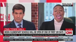Symone Sanders And John Berman Discuss Reopening Schools