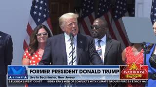 Trump Announces Class Action Lawsuit - 'Liberty Is Under Attack'
