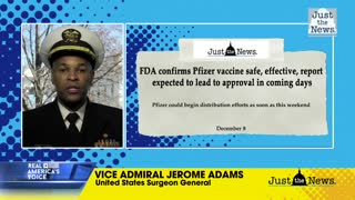 U.S. Surgeon General says COVID-19 vaccines are safe