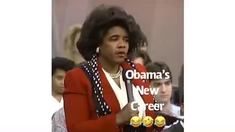 Obama's new career as talkshow host