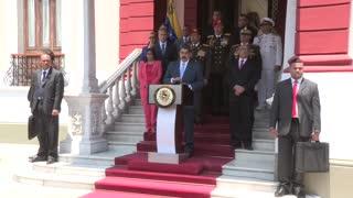 Estados Unidos acusa a Maduro de narcoterrorismo