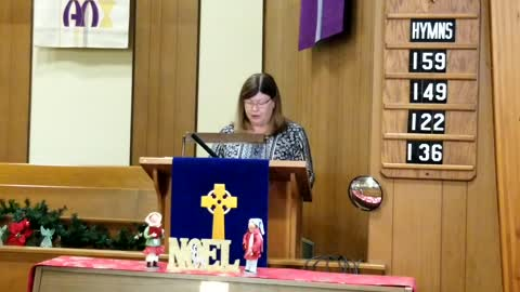Sermon - Hope is a Nooun - November 29, 2020