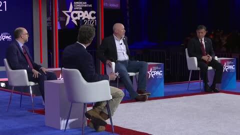 """We're funding Washington DC to take away our freedoms,"" CPAC 2021"